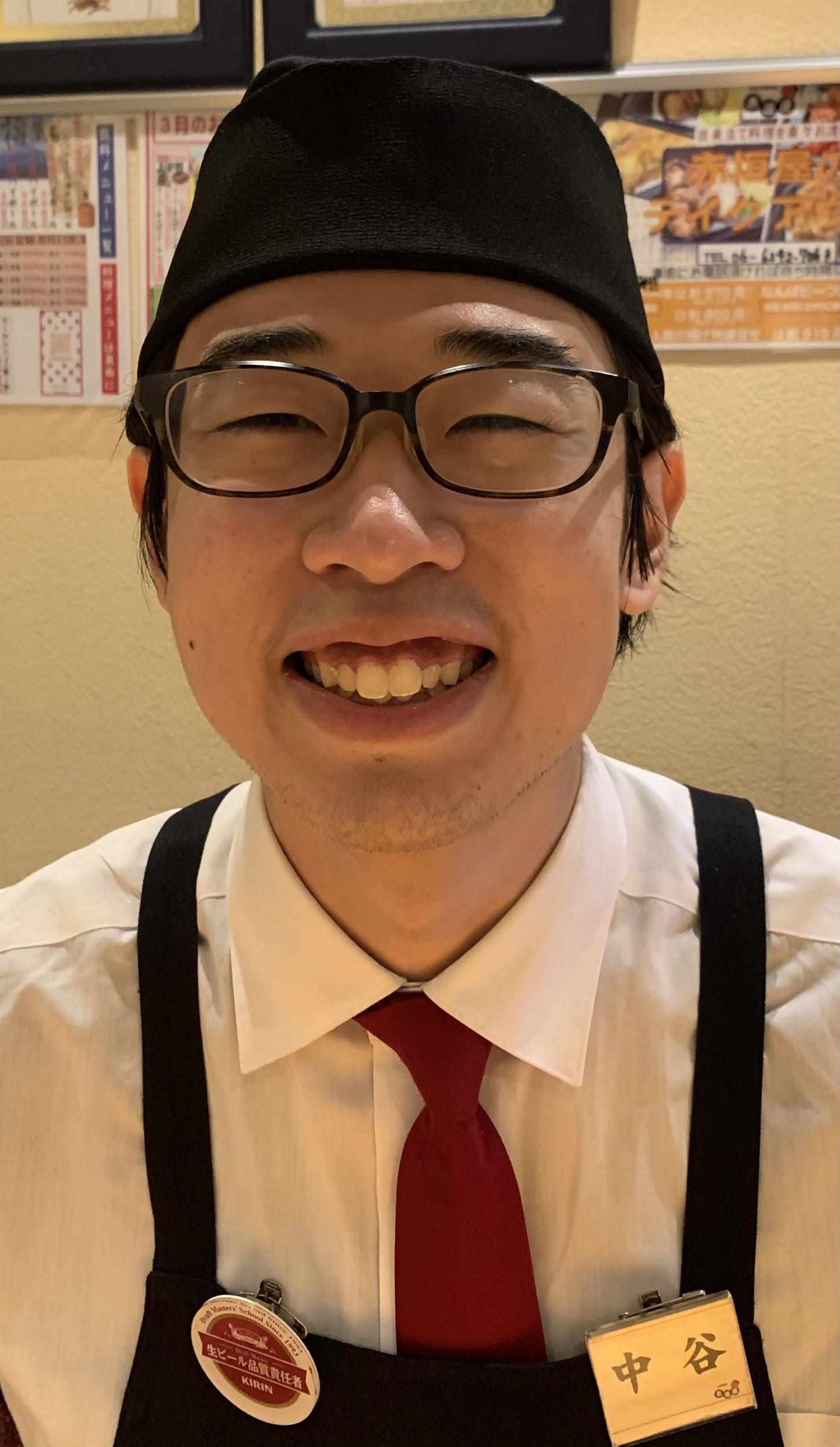 京橋店 スタッフ:中谷 颯(先生、はーくん)