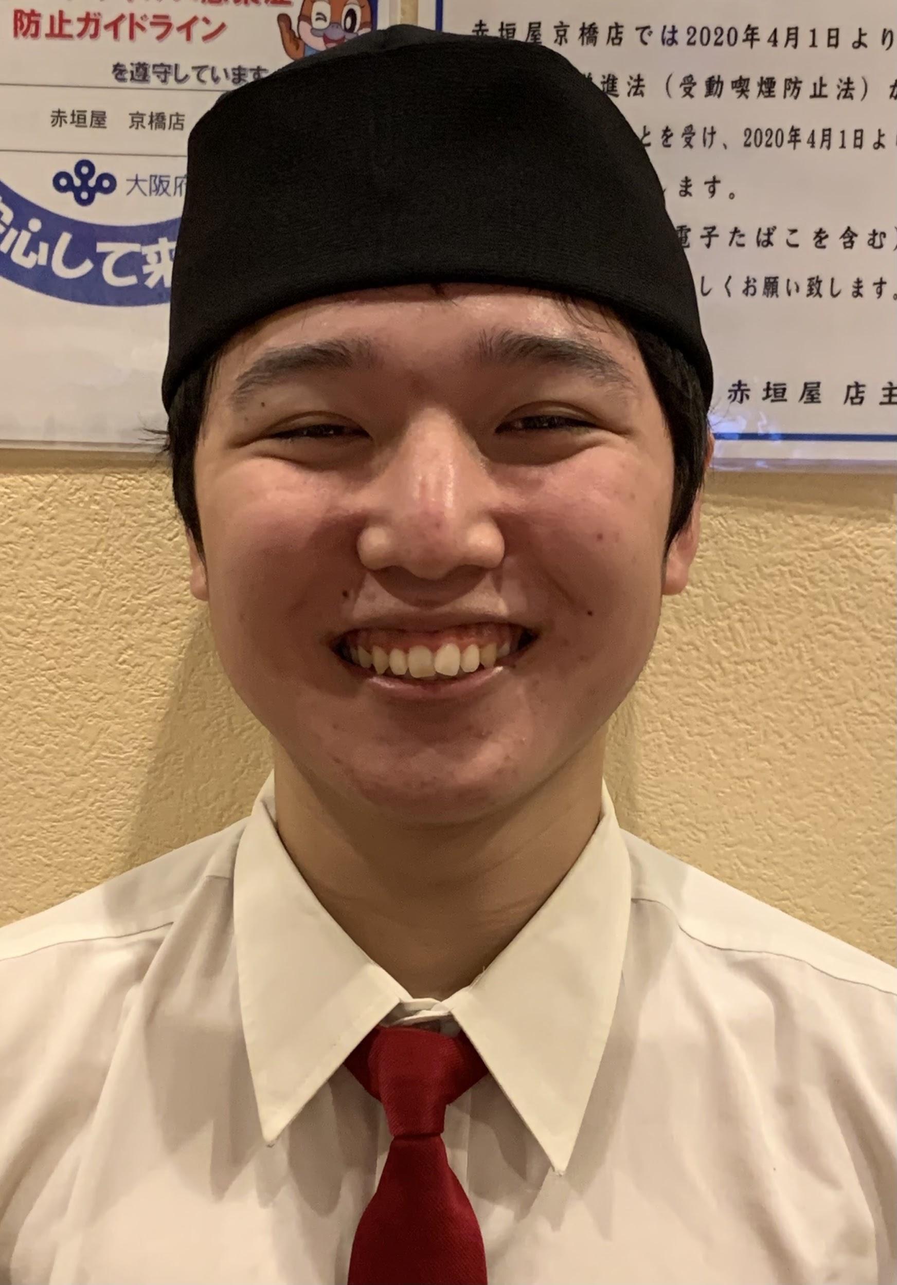 京橋店 スタッフ:矢倉 琉聖(やぐっちゃん)